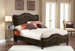 Upholstered King Size Bed