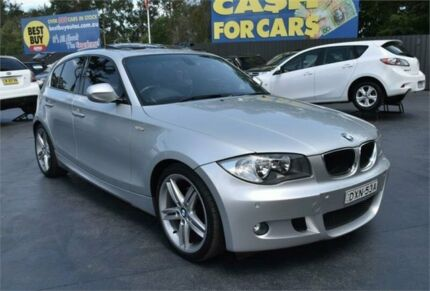 2010 BMW 120i E87 MY10 Silver Automatic Hatchback Campbelltown Campbelltown Area Preview