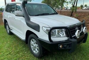 2014 Toyota Landcruiser VDJ200R MY13 GXL White 6 Speed Sports Automatic Wagon Berrimah Darwin City Preview