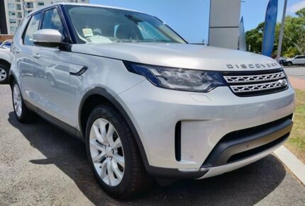 2018 Land Rover Discovery Series 5 L462 MY18 Td4 HSE Indus Silver 8 Speed Sports Automatic Wagon Mackay Mackay City Preview