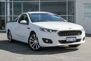 2014 Ford Falcon FG X XR6 Ute Super Cab White 6 Speed Sports Automatic Utility Bayswater Bayswater Area Preview
