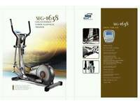 Superweigh EMS Extended Stride Elliptical Cross Trainer