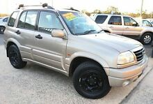2002 Suzuki Grand Vitara Freestyle (4x4) Gold 5 Speed Manual Wagon Woodridge Logan Area Preview
