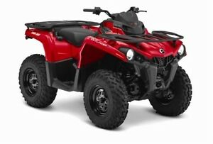 Used 2015 Bombardier Can-Am Outlander L 500 Red