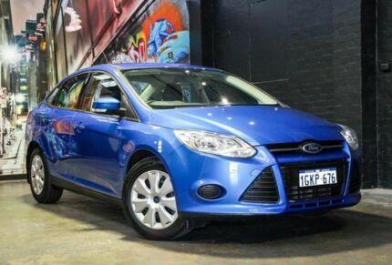 2014 Ford Focus LW MKII Ambiente PwrShift Blue 6 Speed Sports Automatic Dual Clutch Sedan