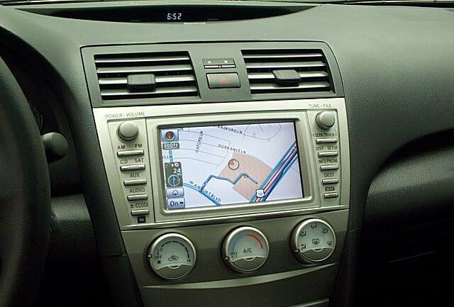 toyota camry prius navigation lcd display touch screen. Black Bedroom Furniture Sets. Home Design Ideas