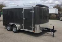 Truck and enclosed trailer for hire