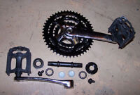 COMPLETE --- Vuelta Crank Assembly   --- COMPLETE