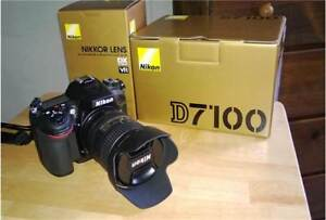 Nikon D7100 C/W 16-85mm Nikkor, and Nikon Extras