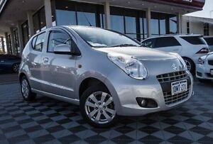 2010 Suzuki Alto GF GLX Silver 5 Speed Manual Hatchback Alfred Cove Melville Area Preview