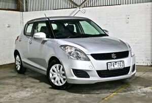 2011 Suzuki Swift FZ GL Silver 4 Speed Automatic Hatchback Thomastown Whittlesea Area Preview