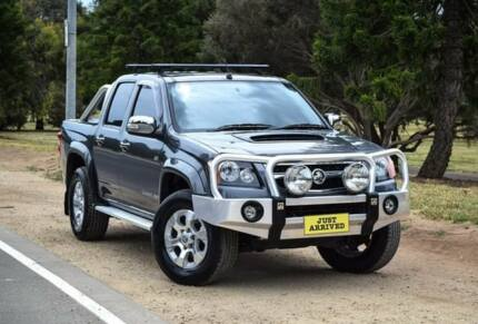 2011 Holden Colorado RC MY11 LT-R Crew Cab Grey 5 Speed Manual Utility