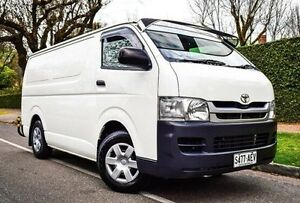 2009 Toyota Hiace TRH201R MY08 LWB White 4 Speed Automatic Van Medindie Walkerville Area Preview