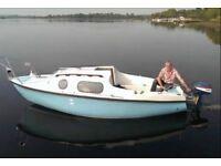 Leisure 17 boat with Yamaha 8hp engine