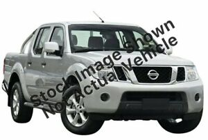 2013 Nissan Navara D40 S6 MY12 ST 4x2 Silver 6 Speed Manual Utility Littlehampton Mount Barker Area Preview