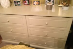 Pier 1 Distressed Wood ( Ivory colour) Dressers. Best offers.