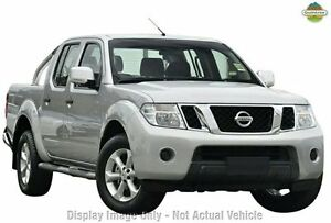 2013 Nissan Navara D40 S6 MY12 ST 4x2 Silver Lightning 6 Speed Manual Utility Frankston Frankston Area Preview