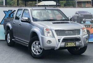 2011 Isuzu D-MAX MY11 LS-U X-Runner Silver Automatic Utility Campbelltown Campbelltown Area Preview