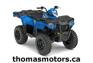 New 2017 POLARIS Sportsman 450 HO 4x4