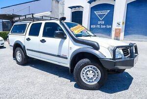 2003 Holden Rodeo RA DX Crew Cab White 5 Speed Manual Dual Cab Woodridge Logan Area Preview