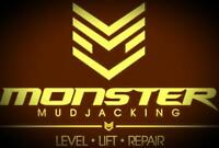 Monster Mudjacking & Concrete Solutions Free estimates