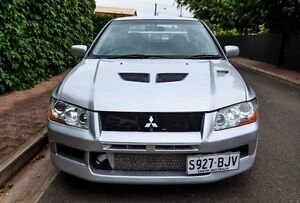 2002 Mitsubishi Lancer Evolution VII Silver 5 Speed Manual Sedan Hove Holdfast Bay Preview