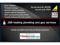 2x fully qualified heating, plumbing and gas engineers