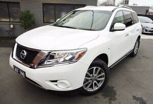 2015 Nissan Pathfinder R52 MY15 ST X-tronic 2WD White 1 Speed Constant Variable Wagon Lilydale Yarra Ranges Preview