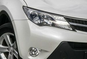 2014 Toyota RAV4 ASA44R MY14 GXL AWD White 6 Speed Sports Automatic Wagon Victoria Park Victoria Park Area Preview