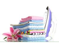 Washing, drying & ironing service! Collect & drop off service.