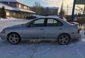2003 Nissan Sentra SE R 6Speed 4CYL blue tooth all power