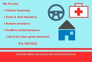 Auto, Home, Business Insurance / Loans