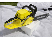 Chainsaw 20'' Blade Tomking BRANDED 58cc 2 Stroke domestic use petrol powered chainsaw🌲🌳🌿