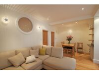 Smart spacious basement flat in Roland Gardens