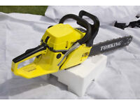 Tomking BRANDED 58cc 2 Stroke Chainsaw BIG 20'' Blade petrol chainsaw🌲NEW BOXED