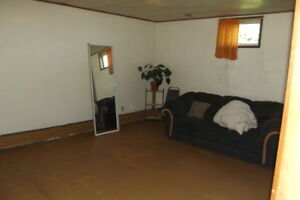 1 bedroom basement suite on an acreage 3 miles east of Lloyd
