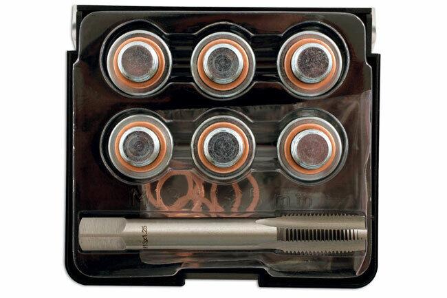 Laser Tools 7661 Sump Plug Thread Repair Kit M14 x 1.25