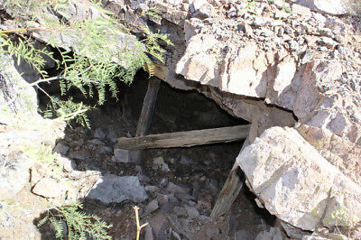 Gold Mine Silver Ore Mineral Rock collecting Historic New Mexico Mining Claim