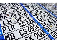 ORIGINAL German License Plate Mazda Lincoln Lexus Land Range Rover AMG Jeep Audi