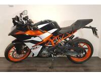 KTM RC 390 2017 model - Ex-demo, low mileage!