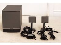Bose Companion 3 Series II speakers and sub