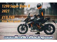 KTM 1290 Super Duke R 21 - Brand new, free tech pack with more offers available!