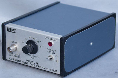 Eggprinceton Applied Researchsignal Recovery 181 Preamplifierpre-amplifier