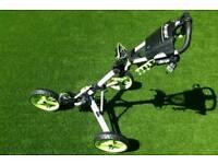 Clic gear golf trolley & adams bag
