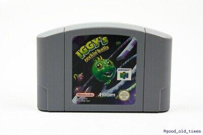 ## Iggy´s Reckin´ Balls N64 / Nintendo 64 Spiel - TOP ##