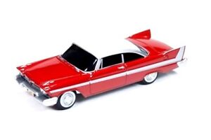 CHRISTINE 1958 PLYMOUTH FURY RARE 1/64 Scale COLLECTIBLE DIECAST MODEL CAR