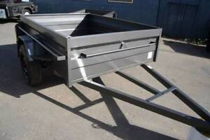 6x4 Heavy Duty Box Trailer RHS Chassis Checker plate 500 Sides Fyshwick South Canberra Preview