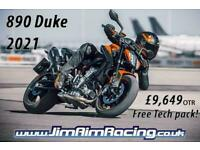 KTM 890 Duke 21 - Brand new in stock, free Tech pack included!
