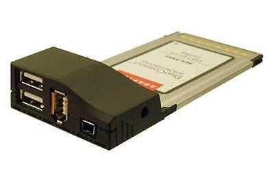 Adaptec AUA-1422CS USB 2.0 IEEE FIREWIRE 4-Pin 6-Pin PCMCIA Card 2126600