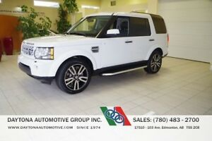 2013 Land Rover LR4 LUXURY PACKAGE 7 PASSENGER